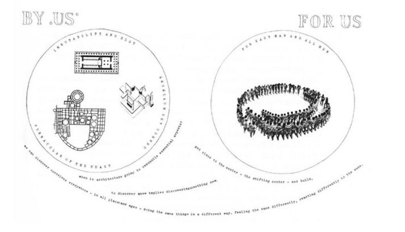 Aldo van Eyck, Oterloo Circles, tecnne