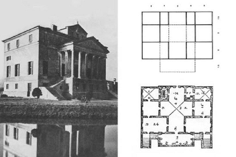 Andrea Palladio, Villa Foscari, Malcontenta, tecnne