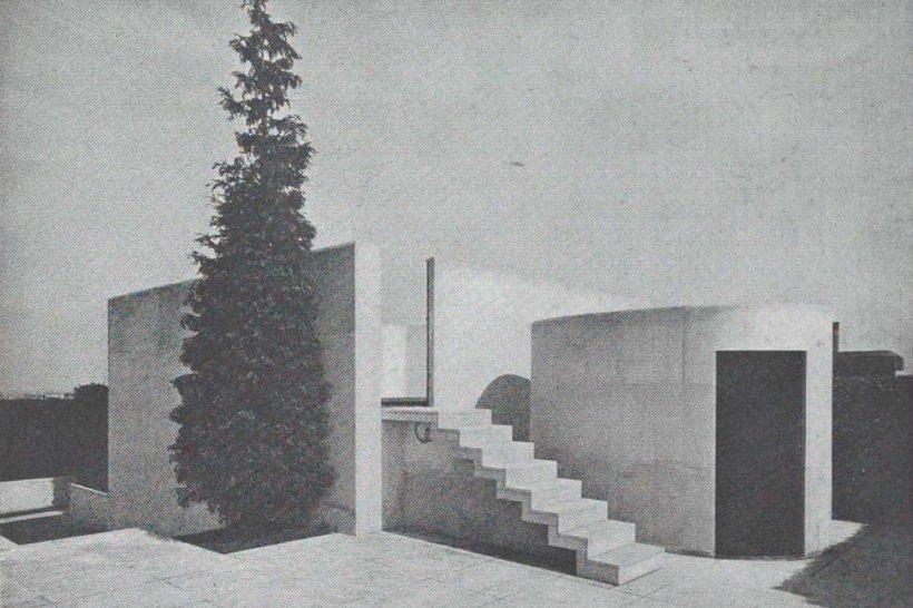 Beistegui Penthouse, Champs Elisées, Paris, Le Corbusier, 1931 MOMA