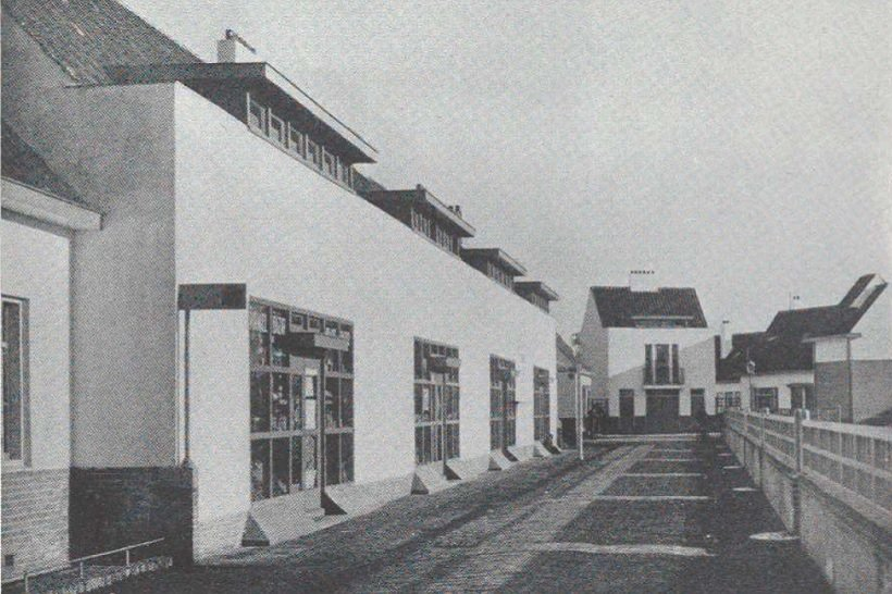 Garden Village, Oud-Mathenesse, Rotterdam, J.J.P. Oud, 1922. MOMA