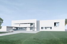 Richard Meier, Southern Florida House, tecnne