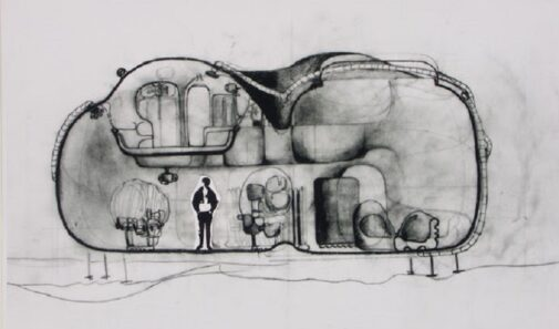 Archigram, Living Pod, David Greene, 1967, tecnne