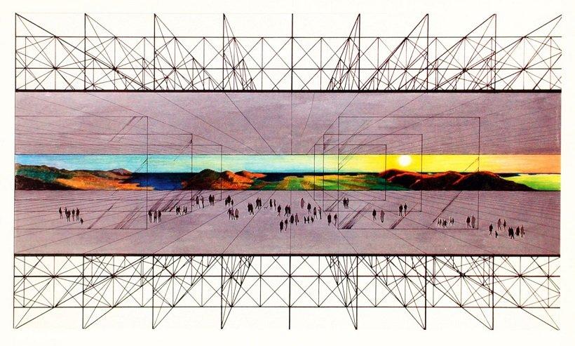 Archizoom, Non Stop City, 1970. tecnne