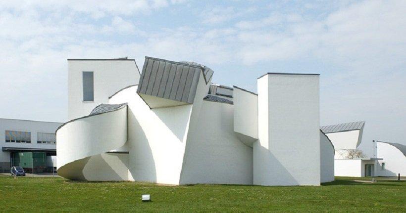 Frank Ghery. Vitra Design Museum, tecnne