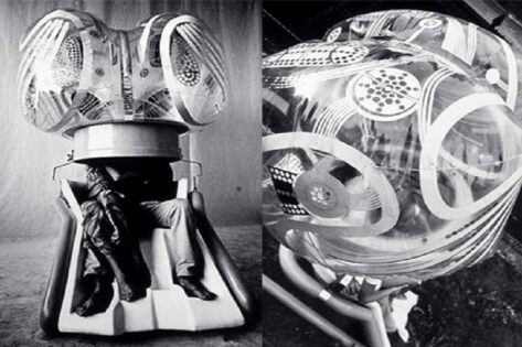 Haus-Rucker-Co, Mind Expander, 1967, tecnne