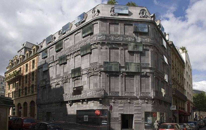La Ciudad-tiempo, Hotel Fouquet, tecnne