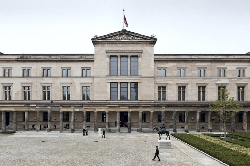 La Ciudad-tiempo, Neues Museum Berlin, tecnne