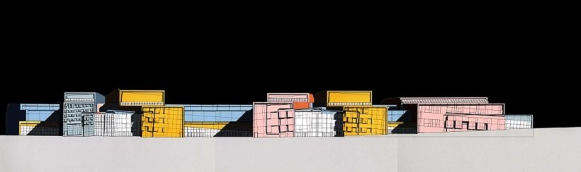 Peter Eisenman. Columbus Convention Center, tecnne
