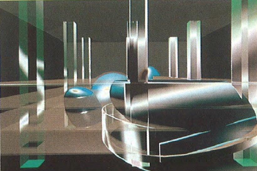 Rem Koolhaas, Tres Grande Bibliotheque, tecnne
