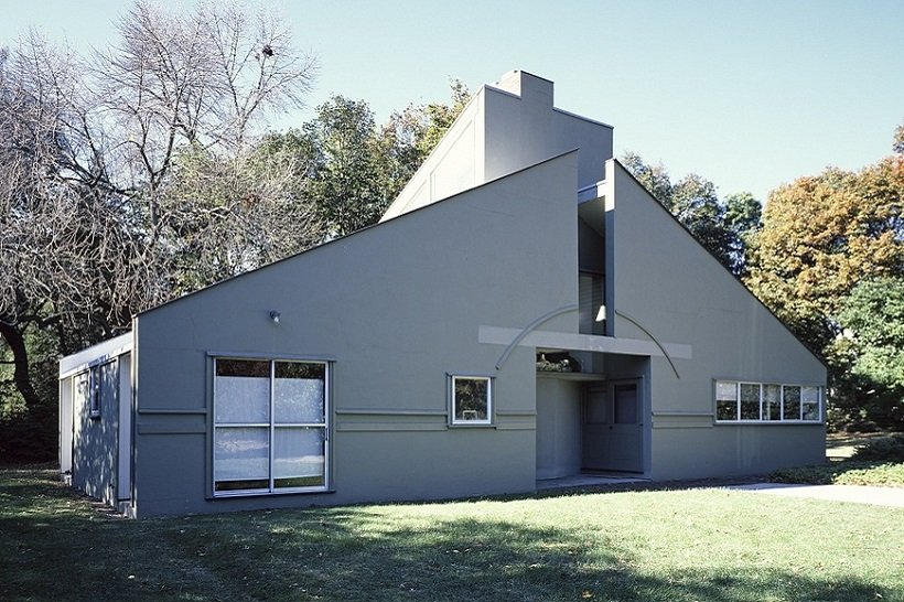 Venturi Scott Brown, Vanna Venturi House, tecnne