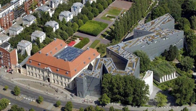 Daniel Libeskind, Jewish Museum Berlin, tecnne