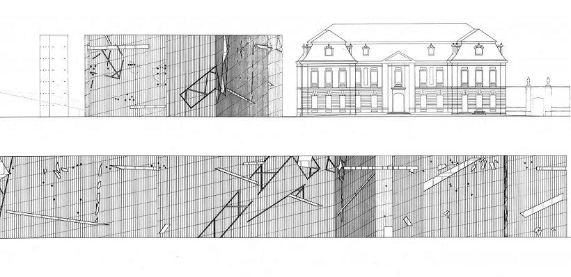 Daniel Libeskind, Jewish Museum Berlin, tecnne..