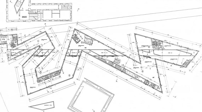 Daniel Libeskind, Jewish Museum Berlin, tecnne.