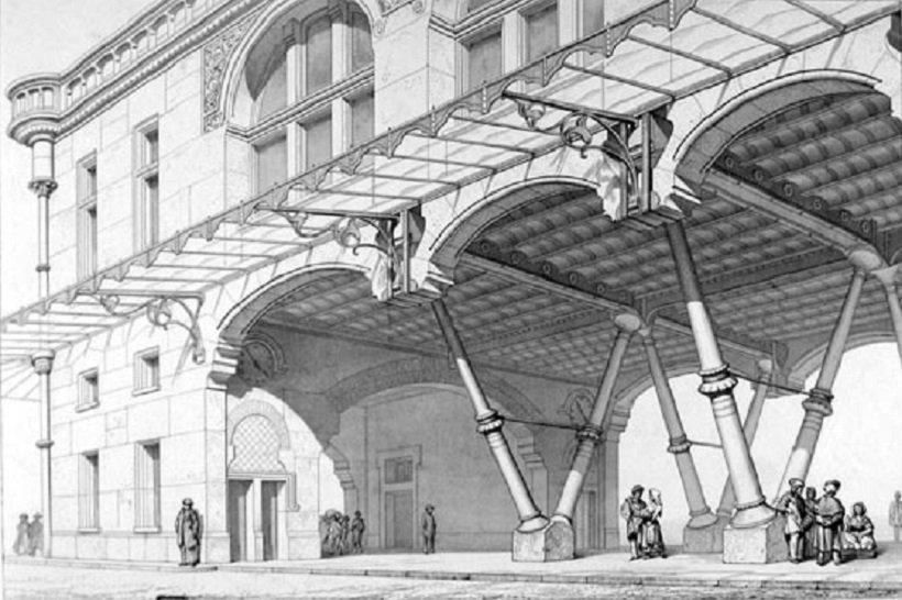 Denis Hollier, Metáforas arquitectónicas, tecnne