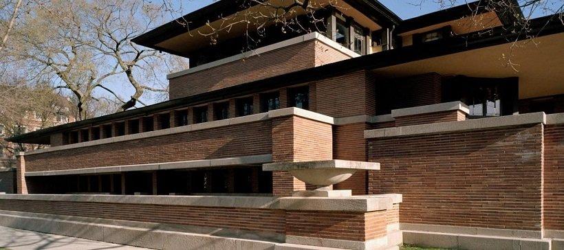 Frank Lloyd Wright, Robie house, tecnne