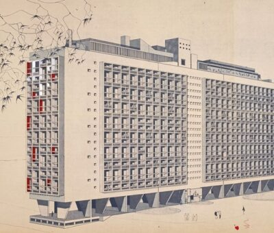Jürgen Habermas, Arquitectura Moderna y Postmoderna