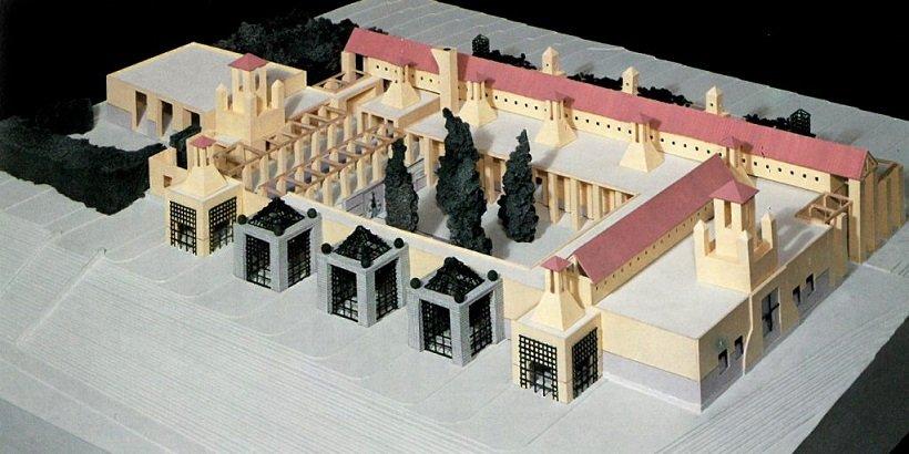 Michaesl Graves, San Juan de Capistrano Library, tecnne
