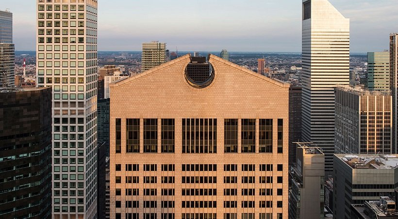 Philip Johnson, The AT&T Building, tecnne