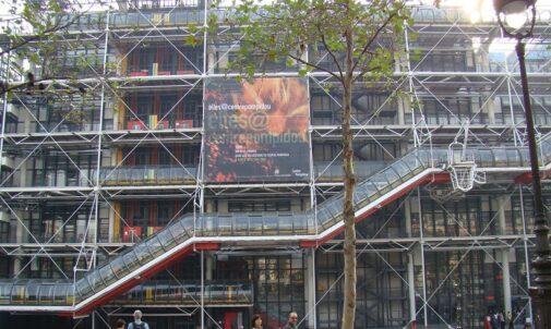 Piano & Rogers, Centre Pompidou, tecnne ©Marcelo Gardinetti