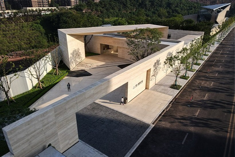 YIHE Landscape Architecture, Yifang Art Center, tecnne