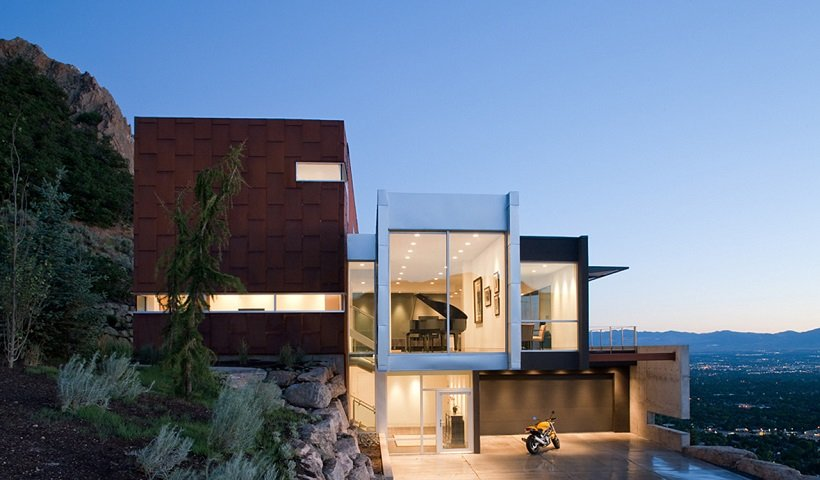Axis Architects, H-House, tecnne