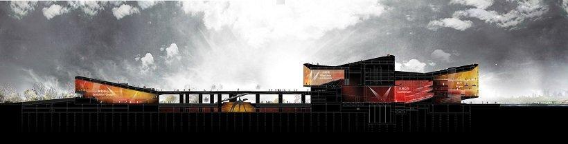 Henning Larsen, Hangzhou Yuhang Opera, tecnne