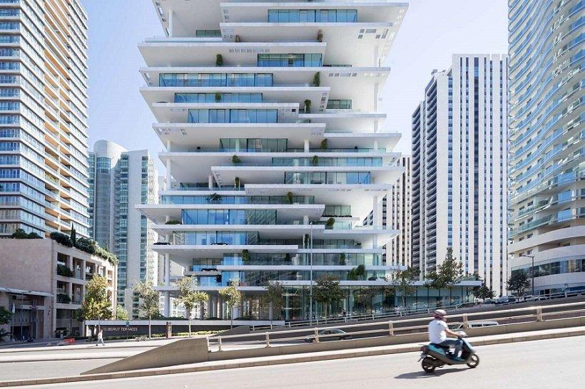 Herzog & de Meuron, Beirut Terraces, tecnne
