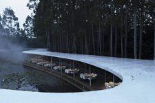 MUDA Architects, Restaurante Garden Hotpot, tecnne