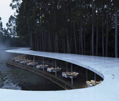 MUDA Architects, Restaurante Garden Hotpot