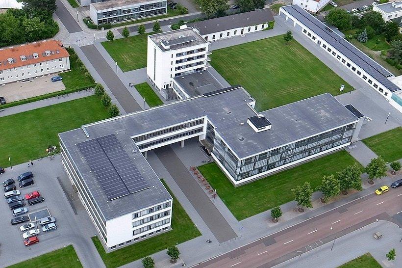 Bauhaus Dessau, tecnne