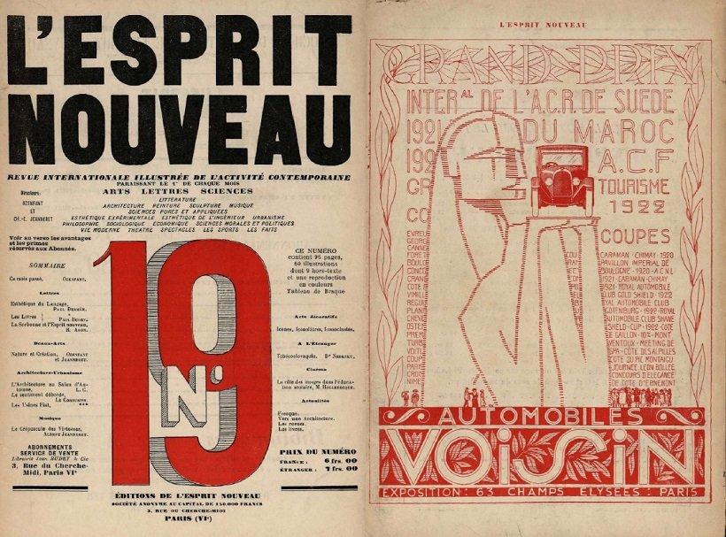 L'Espirit Nouveau 19, Automoviles Voisin tecnne