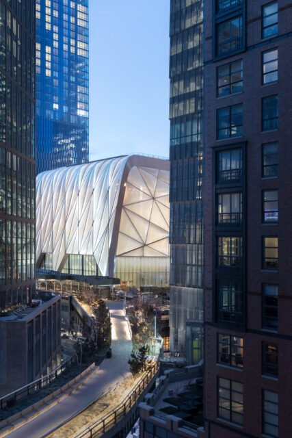 Diller Scofidio + Renfro, The Shed, tecnne