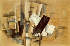 Georges Braque, Gueridon, 1913, tecnne
