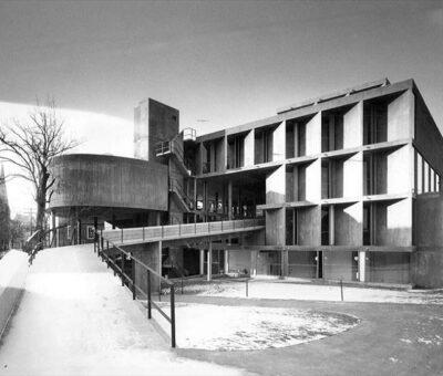 Carpenter Center, el último Le Corbusier