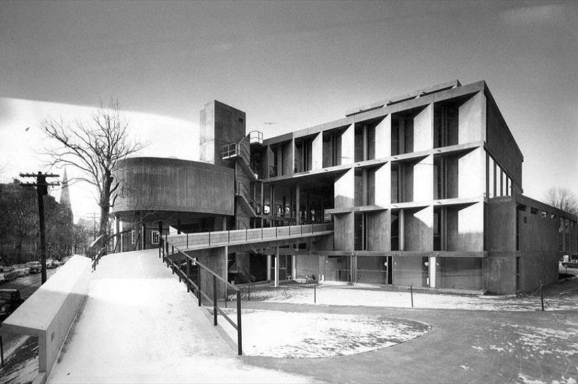 Le Corbusier, Carpenter Center, tecnne