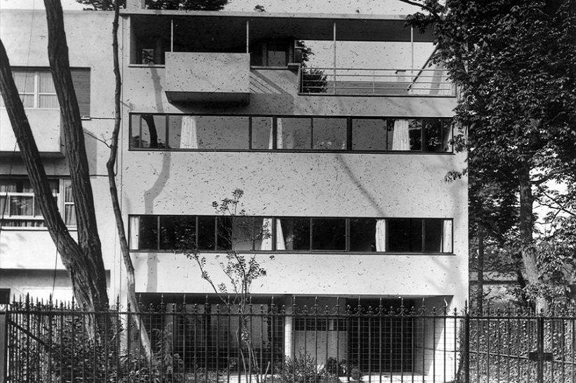 Le Corbusier, Villa Cook, tecnne