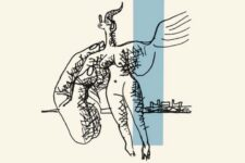 Le Corbusier, poesie sur argel, tecnne