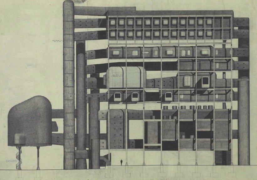Michael Webb, Furniture Manufacturers Association Headquarters, 1957, tecnne