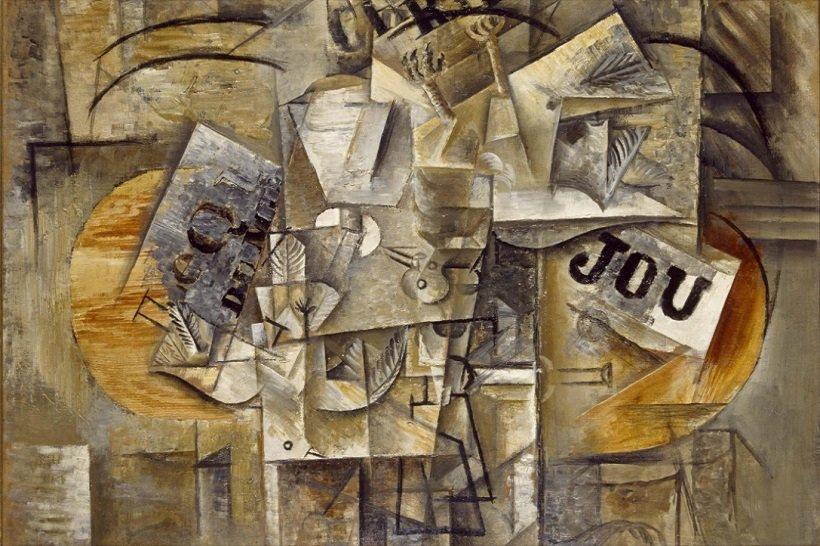 Pablo Picasso, Les oiseaux morts, tecnne