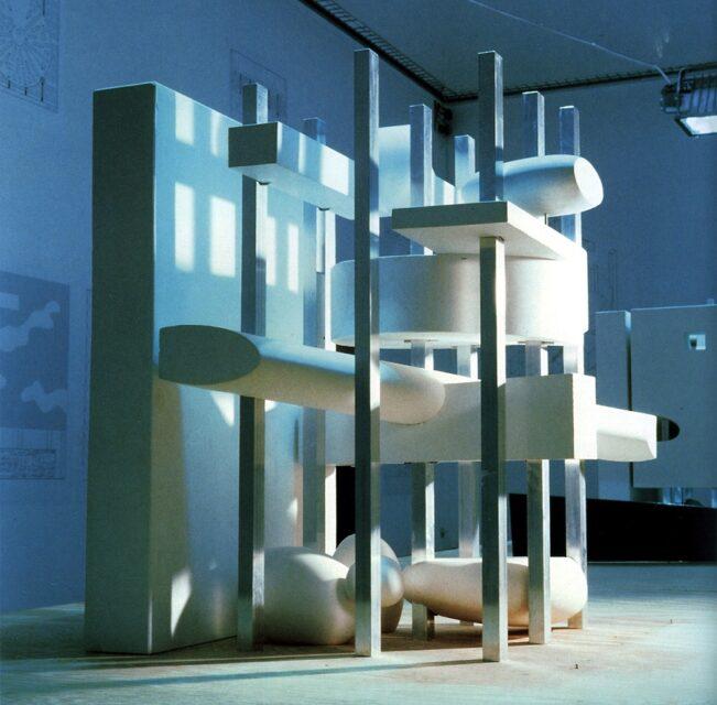 Rem Koolhaas, Très Grande Bibliothèque, tecnne