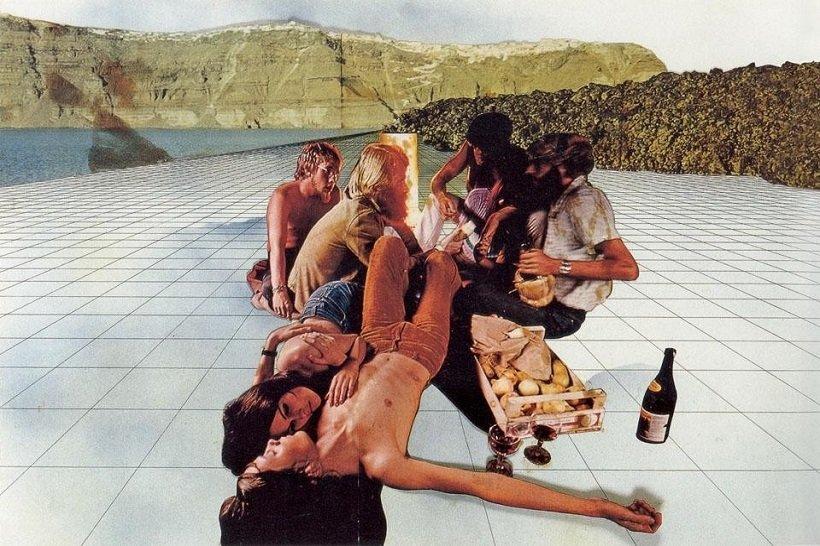 Superstudio, Supersuperficie, 1971, tecnne