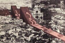 Zziggurat, Città lineare, 1969, tecnne