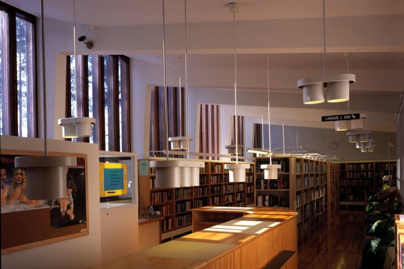 Alvar Aalto, Säynätsalo Town Hall ©Maija Holma Alvar Aalto Foundation