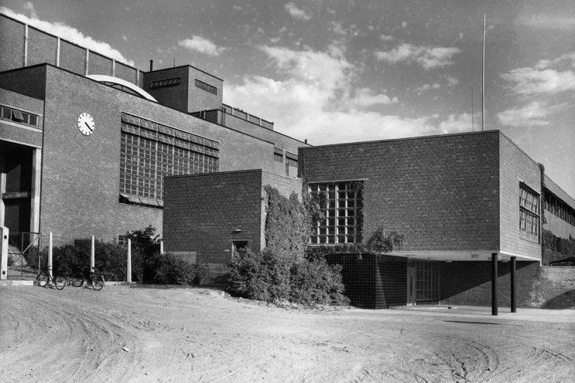 Alvar Aalto, Sunila pulp mill, ©Gustaf Welin Alvar Aalto Foundation, tecnne