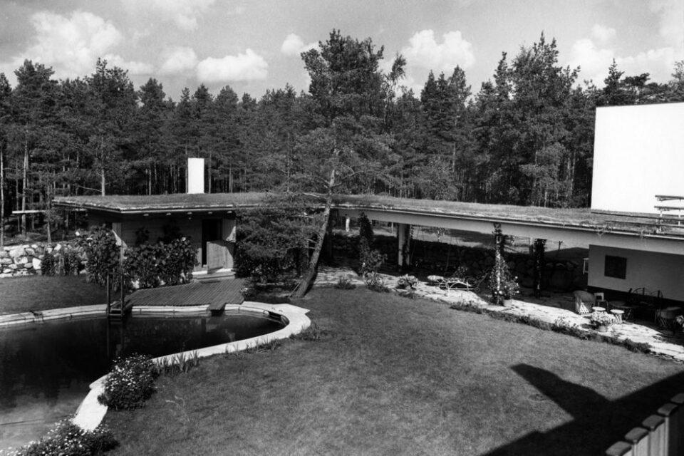 Alva Aalto, Villa Mairea, tecnne