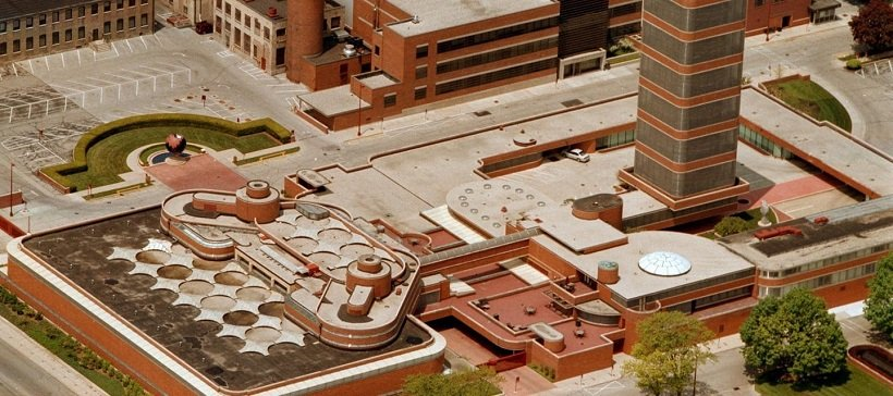 Frank Lloyd Wright, S.C. Johnson Administrative Complex, 1936, tecnne