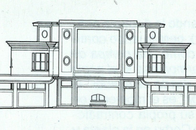 Le Corbusier. Villa Schwob. Fachada posterior, tecnne