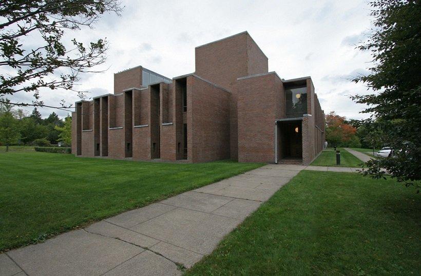 Louis I. Kahn, First Unitarian Church, Rochester, N.Y. 1959