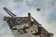 Superstudio, Supersuperficie; Pulizie di primavera, 1971, tecnne