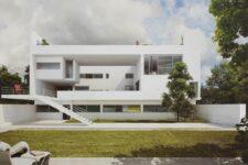 Le Corbusier, Villa Ocampo, tecnne